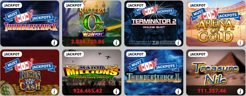 Betway Casino Spielen Jackpots